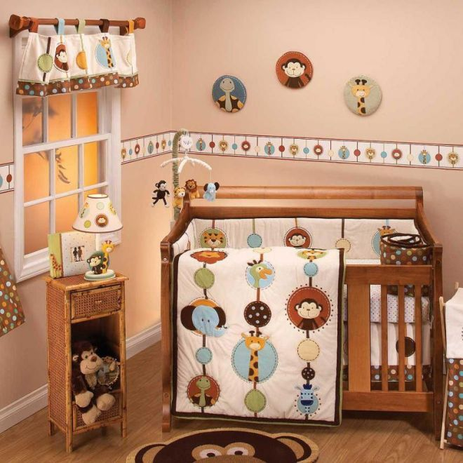 quarto de bebe meninos bichinhos