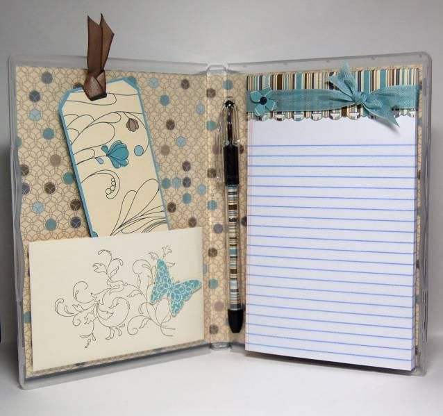 Take Note: Pocket Size 5x8 Notebook - 100 White Lined Pages - Easter Basket Gift