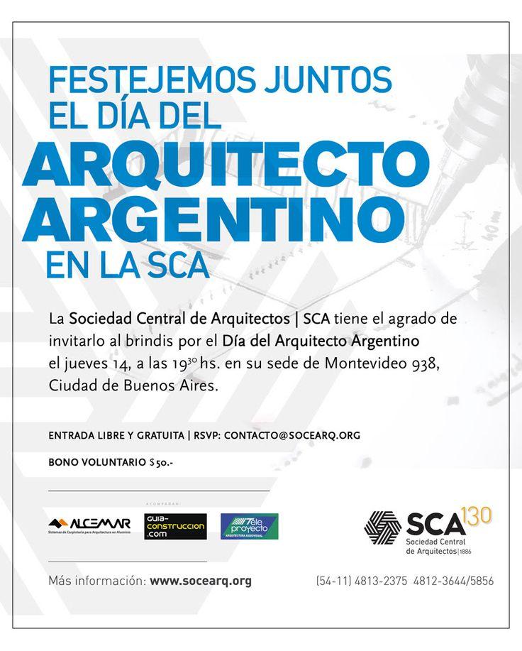 Sca brindis por el d a del arquitecto argentino la - Sociedad de arquitectos ...