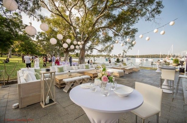 Garden Wedding Venues Perth Matilda Bay. We've filmed a number of gorgeous Wedding Venues across WA. From garden photo shoots, intimate 'I Do's' to lavish celebrations, these are some of our favourites. www.whiteboxstudio.com.au