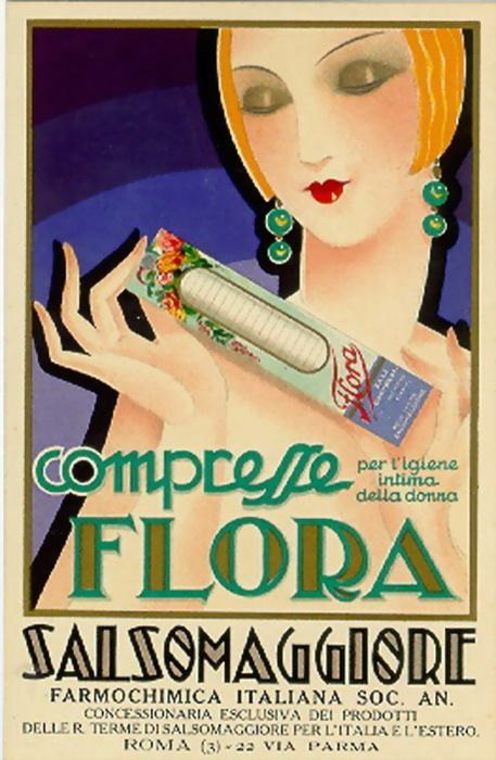 Flora - Vintage advertising