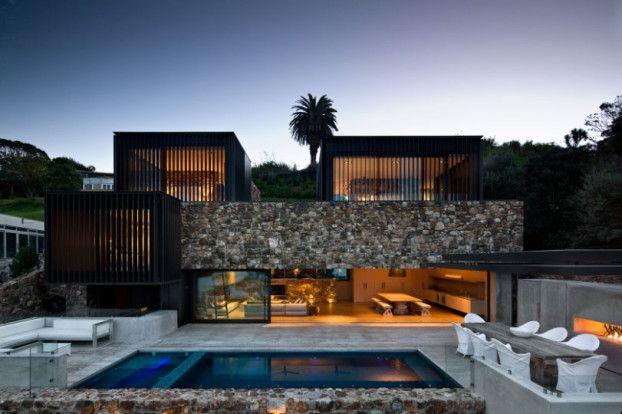 Modern Stone House That RocksStudioAflo | Interior Design ...