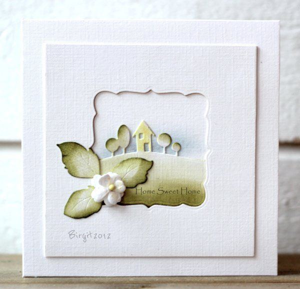 CAS174 Home by Biggan - Cards and Paper Crafts at Splitcoaststampers  monder landscape and gentle leaves