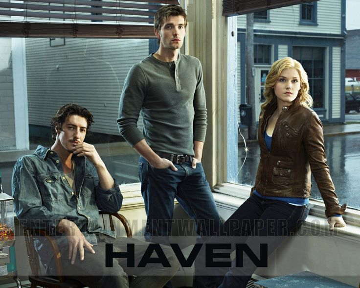 Haven . . . not a Stephen King fan, but this show is an intriguing mystery that's continued from episode to episode.