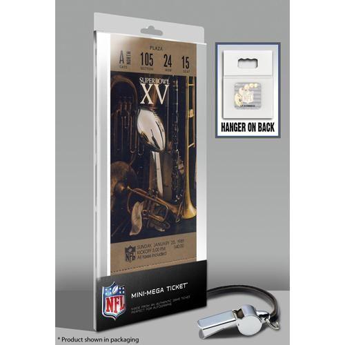 Super Bowl XV (15) Mini-Mega Ticket - Oakland Raiders