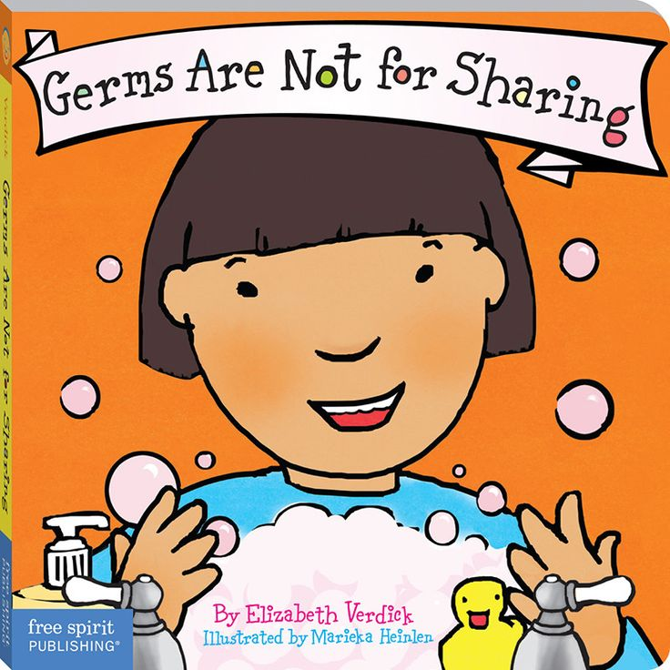 Achoo! Cough! F-L-U-S-H! What to do? In childcare, in preschool, at home, and everywhere, kids and germs go hand in hand. Toddlers need to learn that germs are not for sharing. Rather than focus on wh