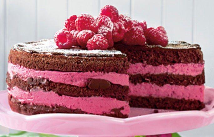 Himbeer-Joghurt-Schoko-Torte - Köstliche Rezepte für Schokoladentorte