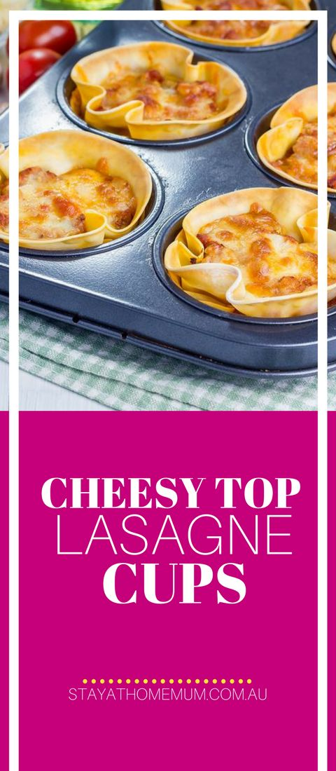 """""""These are perfect freezer food for those busy days…lord knows us Mums need a night off every so often or after a late afternoon at soccer training. """" #lunch #snacks #lasagne"""