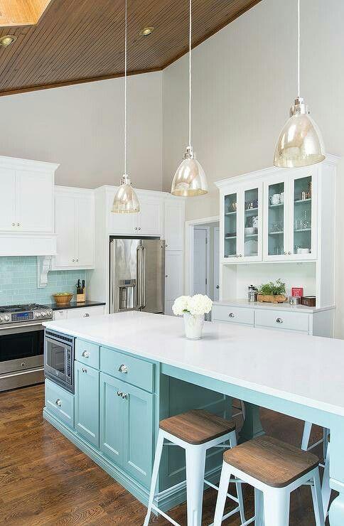 Beautiful Kitchen Tiffany Blue Kitchen Light Blue Kitchen