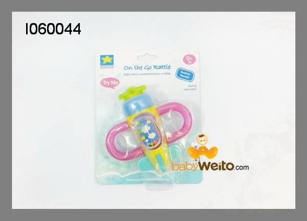 I060044  On the go rattle  Ada musik,teether,rattle  BPA Free  Usia 0m+  IDR 90*  BCA 6320-2660-58 a/n HENDRA WEITO MANDIRI 123-00-2266058-5 a/n HENDRA WEITO PANIN 105-55-60358 a/n HENDRA WEITO  Telp :021-9388 9098