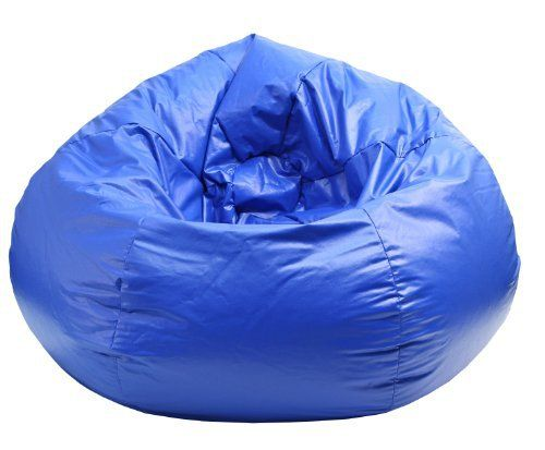 """The Medium/Tween Blue Wet Look Vinyl Bean Bag is Sturdy, Double Stitched, has a Child Safe Zipper. 105"""" Circumference (L28"""" x W28"""" x H19""""). Ideal for Gaming, Studying, Watching TV, or just Kickin'. At Just 7 lbs, it's easy to Move From Room to Room. Adjustable Bean... more details available at https://furniture.bestselleroutlets.com/children-furniture/chairs-seats/bean-bags-chairs-seats/product-review-for-gold-medal-bean-bags-30010509804-medium-w"""