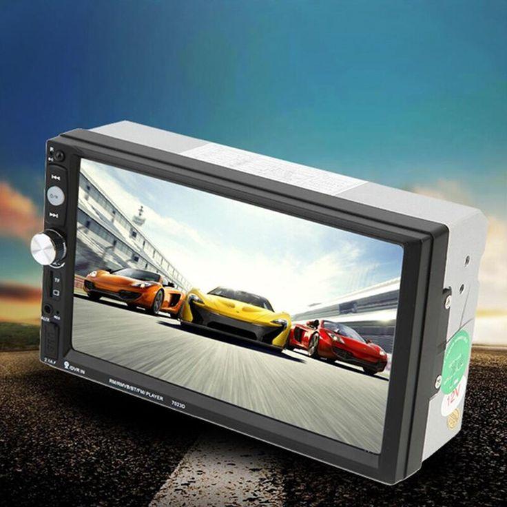 2 dinカーラジオmp5プレーヤー7インチhdタッチスクリーン付きデジタル電話ステレオラジオfm/mp3/mp4/オーディオ/ビデオ/usbオートダッシュ7023D