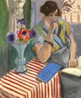 Henri Matisse - Woman Reading, 1922