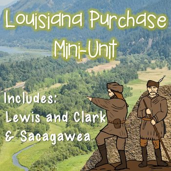 Are you looking for an engaging unit to use while teaching the Louisiana Purchase? You've found it! You will love this unit because all you have to do is print. There is nothing to prepare ahead of time! This mini-unit uses a mixture of reading passages, interactive notebook foldables, cloze passages, vocabulary, word search activities, and more!