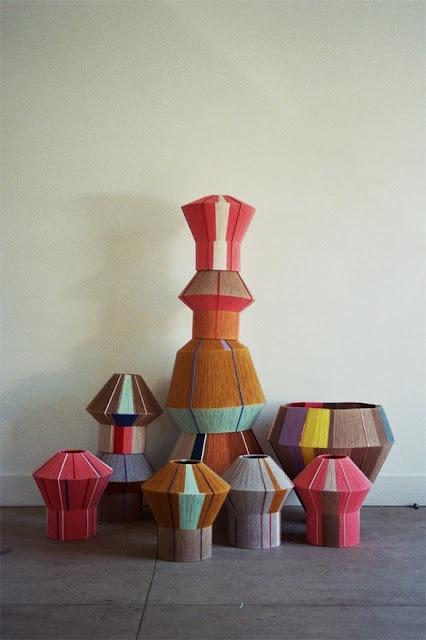 lampshades... #pourchezmoi