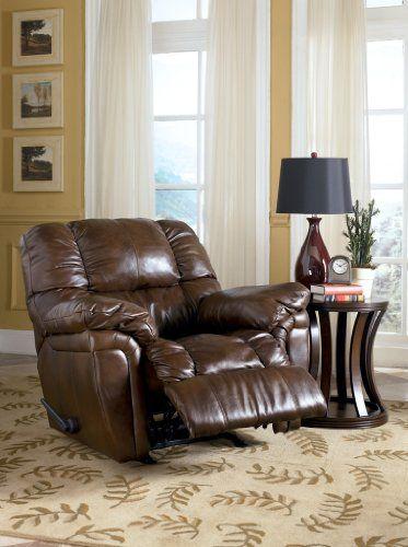 Dalton Oak Rocker Recliner By Ashley Furniture & Best 25+ Garden recliners ideas on Pinterest | Garden recliner ... islam-shia.org