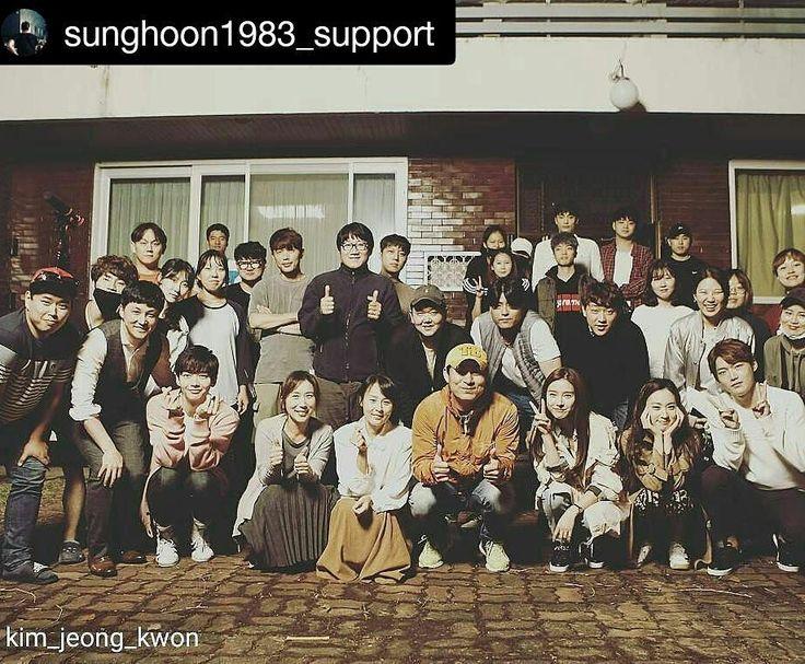22 個讚,1 則留言 - Instagram 上的 Debbie Moh(@debbie_moh):「 #Repost @sunghoon1983_support ・・・ [ MOVIE ] Group photo bro. director @kim_jeong_kwon with… 」