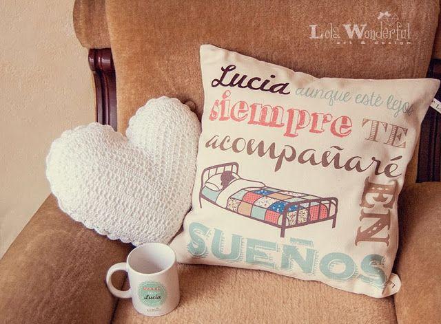 Lola Wonderful_Blog: Sorteo + Cojines personalizados LW