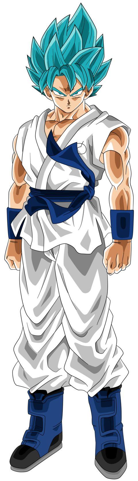 SSGSS Goku (Blue & White Gi)