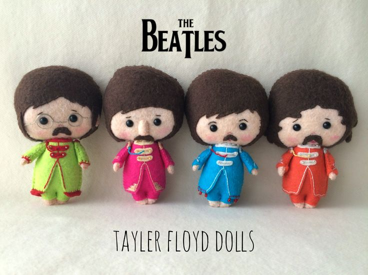Sgt Pepper's Baby Beatle Dolls - Made by Tayler Floyd Dolls