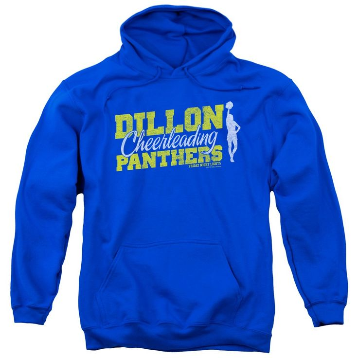 """Checkout our #LicensedGear products FREE SHIPPING + 10% OFF Coupon Code """"Official"""" Friday Night Lights / Cheer Squad - Adult Pull-over Hoodie - Royal Blue - Friday Night Lights / Cheer Squad - Adult Pull-over Hoodie - Royal Blue - Price: $49.99. Buy now at https://officiallylicensedgear.com/friday-night-lights-cheer-squad-adult-pull-over-hoodie-royal-blue"""