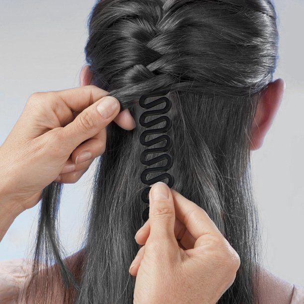 Magic French Braiding Tool Walmart Com Walmart Com In 2020 Hair Styles Cool Braid Hairstyles Curly Hair Styles