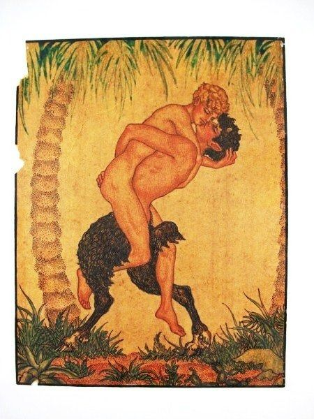 porn Gay male mythical creatures
