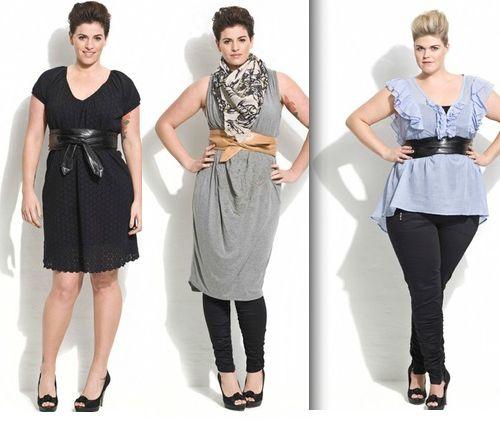 Moda curvy pe 2015, le collezioni per donne formose