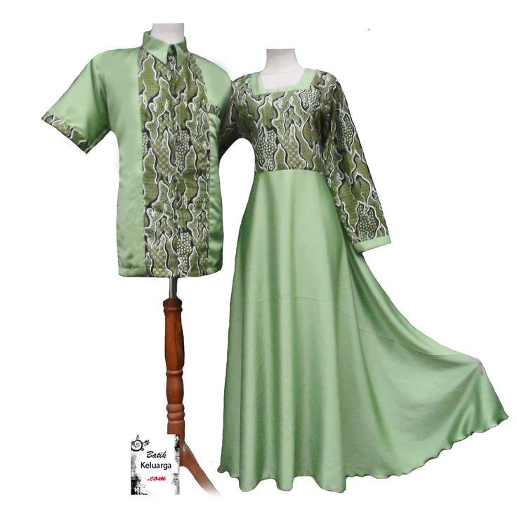 Baju Pesta Hijau Lembut