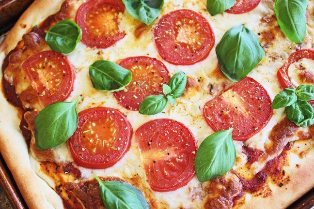 how to make margherita pizza dough