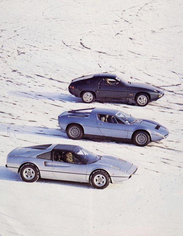 Porsche 928 Maserati Merek Ferrari 308