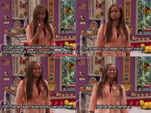 I miss That's So Raven. It was one of my FAVORITE shows. I miss the old Disney Channel. so much.