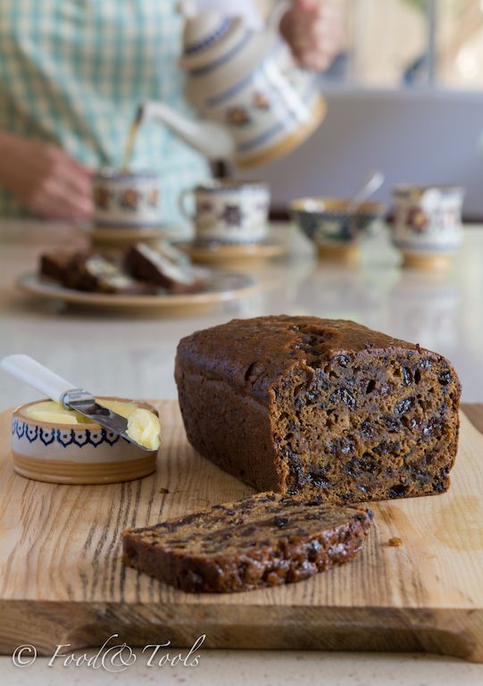 Barmbrack | Irish Tea Bread, traditionally served on Halloween.