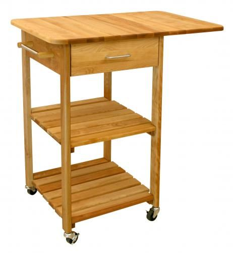 $290.00 (CLICK IMAGE TWICE FOR UPDATED PRICING AND INFO) Butcher Block Cart - Drop Leaf Two Shelved Cart - Catskill Craftsmen 7227.See More Butcher Block Islands at http://www.zbuys.com/level.php?node=3927=butcher-block-islands