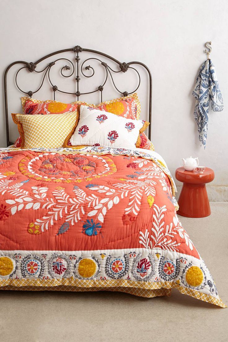 Zocalo Embroidered Quilt » Probably one of the prettiest quilts I have ever seen, I'm in love.