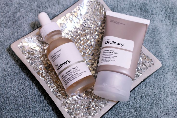 A review of the lactic acid (10%) and azelaic acid items from skin care line The Ordinary. Find out if they worked for me!