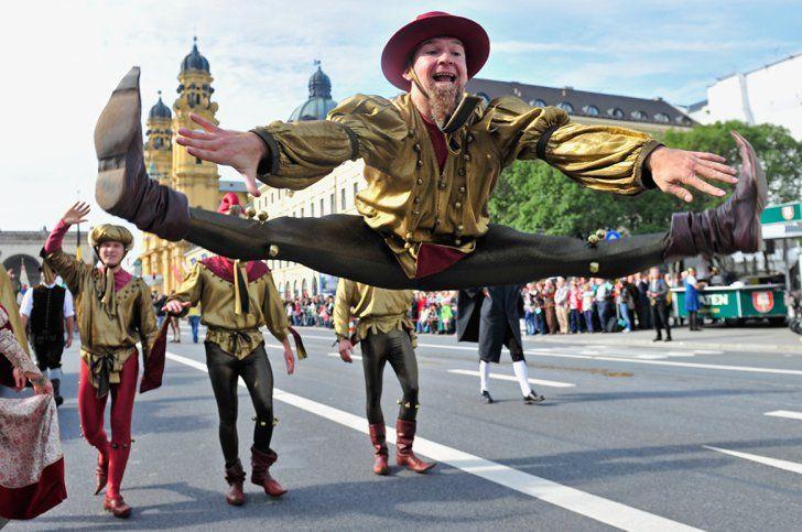 Celebrity & Entertainment | 65 Festive Snaps From Oktoberfest's Wild Opening Weekend | POPSUGAR Celebrity