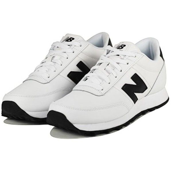 New Balance for Women 501 Classics White Sneakers (4,800 INR) ❤ liked on Polyvore featuring shoes, sneakers, new balance sneakers, white sneakers, new balance, new balance trainers and new balance shoes