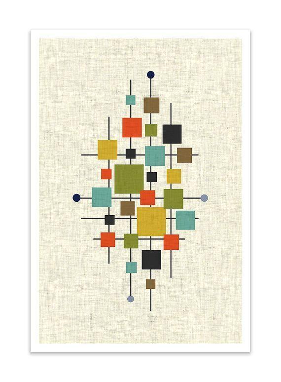 Mid-Century Modern Design & Decorating Guide - FROY BLOG - Mid-Century Modern Art