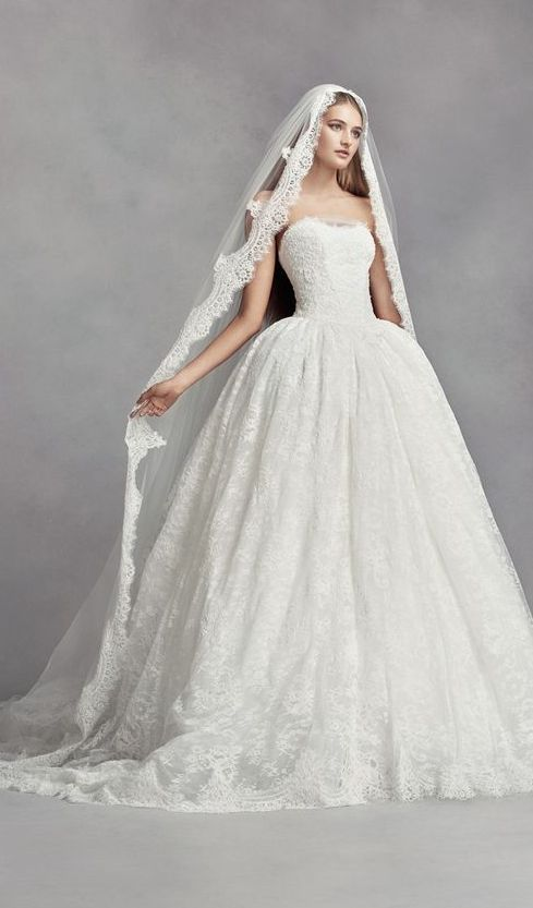 Wedding Dress Inspiration White By Vera Wang Ball Gown Wedding