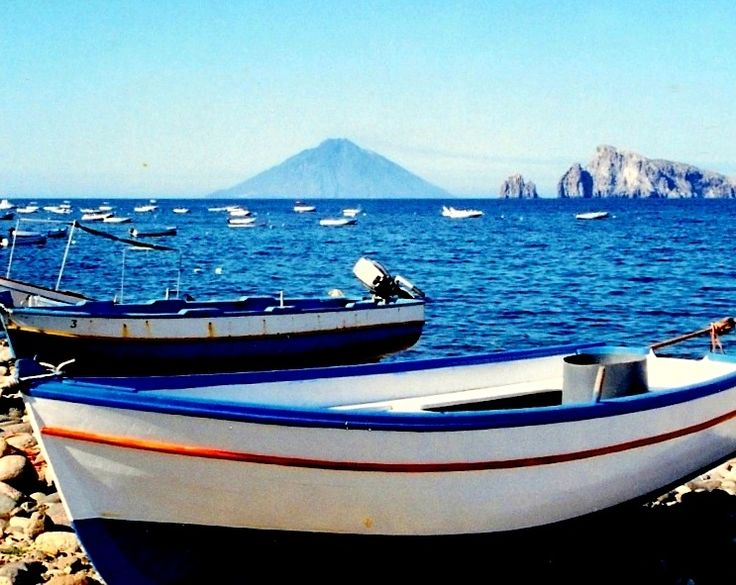 Stromboli as seen from Paarea - Aeolian Islands  - Italy