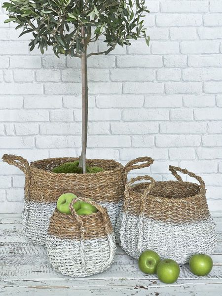 Stylish Dipped Baskets