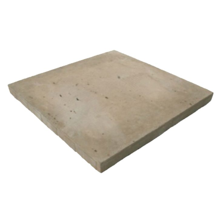Expocrete 18-in x 18-in Brown Travertine Full Slab Patio Stone | Lowe's Canada