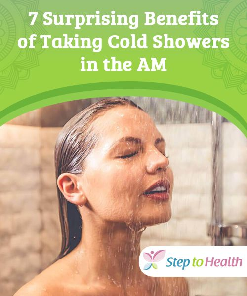 7 Surprising Benefits of Taking Cold Showers in the AM   Cold showers aren't that appealing for most people. It has the contrary effect, just thinking about them gives us goosebumps and no interest at all. However, if we knew about the huge benefits that cold showers offer for our health, we might just decide on trying out this simple and economical home therapy.