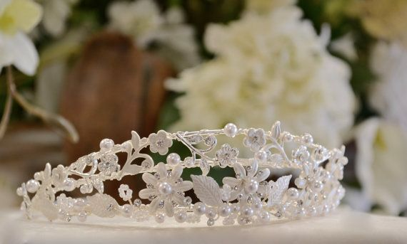 First Communion Headpiece First Communion Veil by CouturesbyLaura