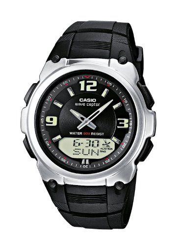 Casio Funkuhren Herren-Armbanduhr Analog / Digital Quarz WVA-109HE-1BVER