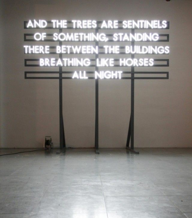 Robert Montgomery - Poetic Neon Signs