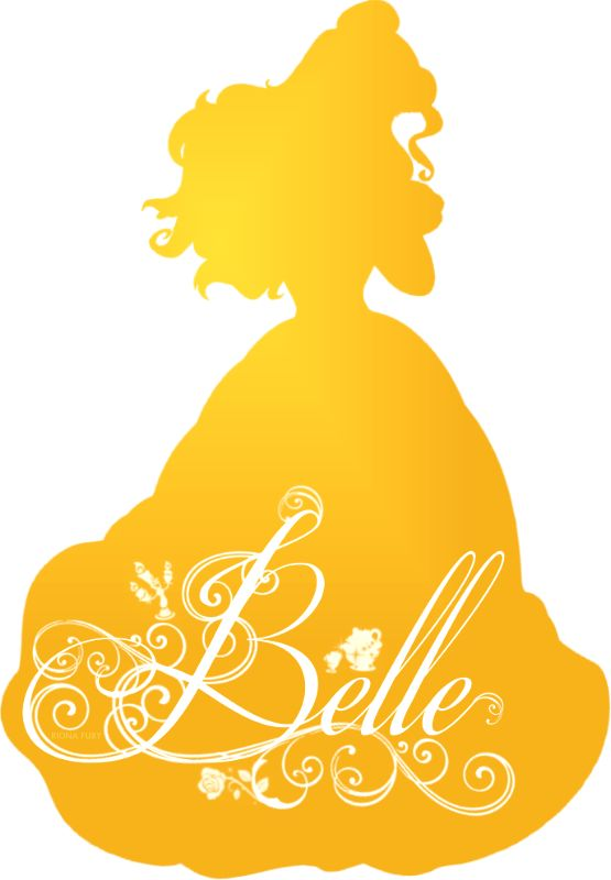 Belle Silhouette - Disney Princess Photo (37757454) - Fanpop