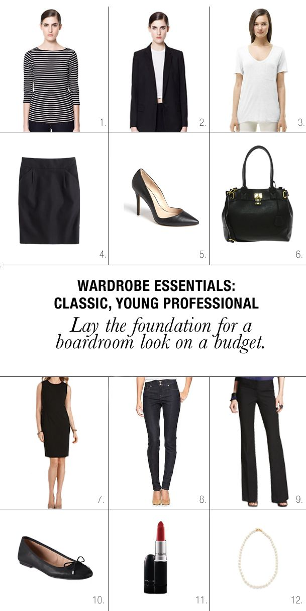 Wardrobe Essentials: Everything A Young Professional Needs   StyleUp