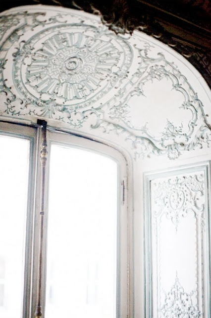 Beautiful detailing: Ceiling, Interiors, Crown Molding, Windows, By, Architecture, Design